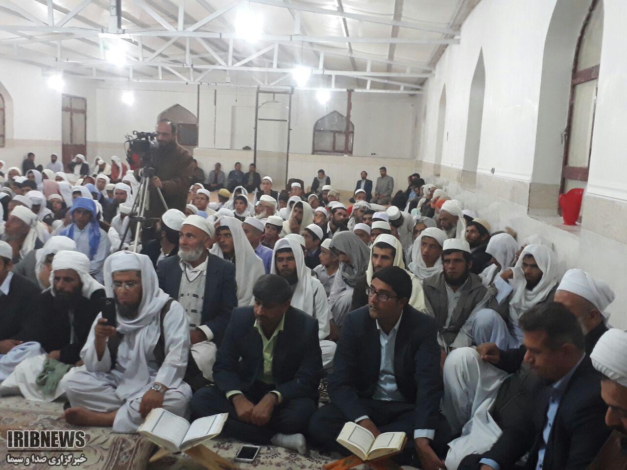 محفل انس با قرآن کریم منادیان وحدت در سربیشه