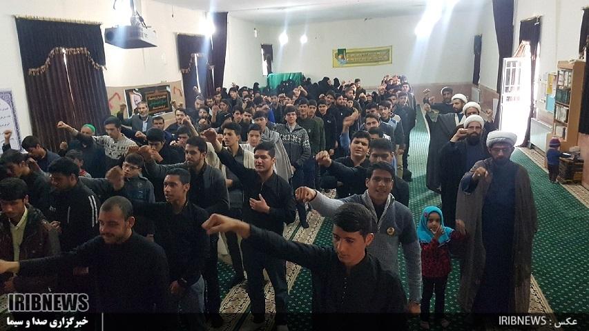 همایش طلاب و روحانیان زیرکوه در گرامیداشت سردار سلیمانی