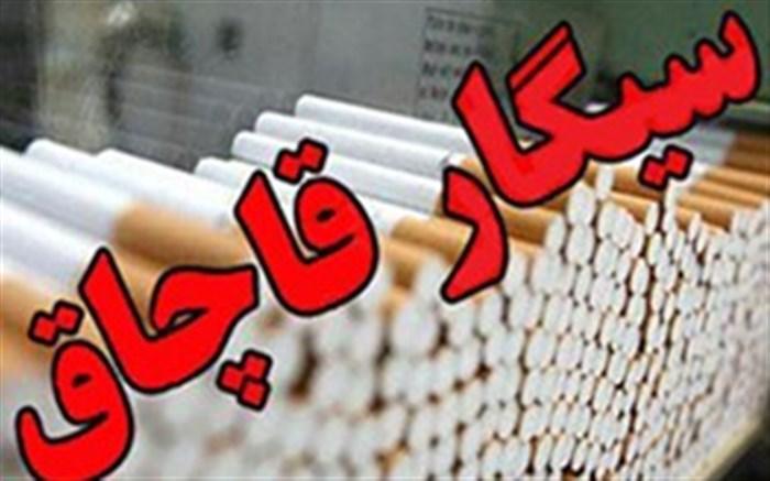 کشف بیش از ۳۳۱ هزار نخ سیگارقاچاق در طبس