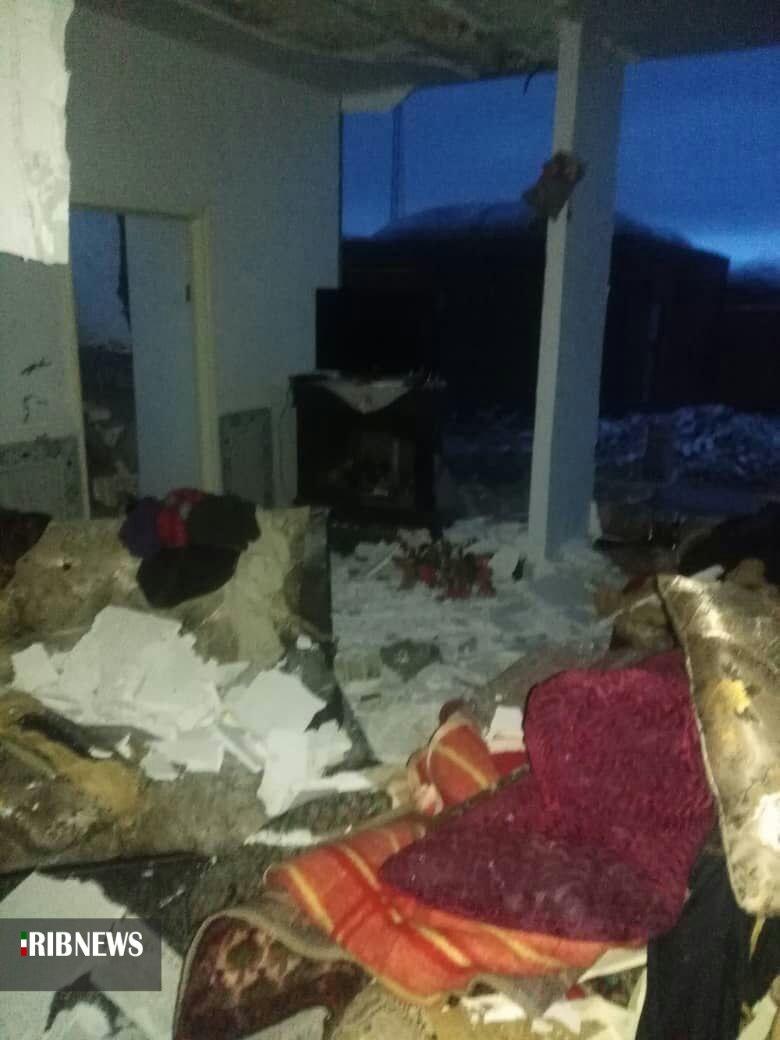 انفجار گاز در اسلام آباد درمیان