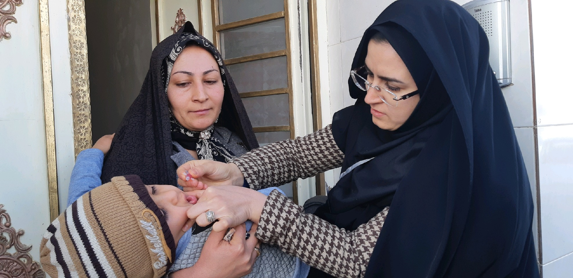 آغاز اجرای مرحله اول طرح سراسری واکسیناسیون فلج اطفال