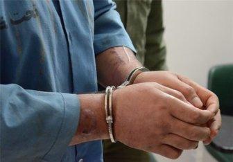 دستگیری سارق با ۵ فقره سرقت در زیرکوه