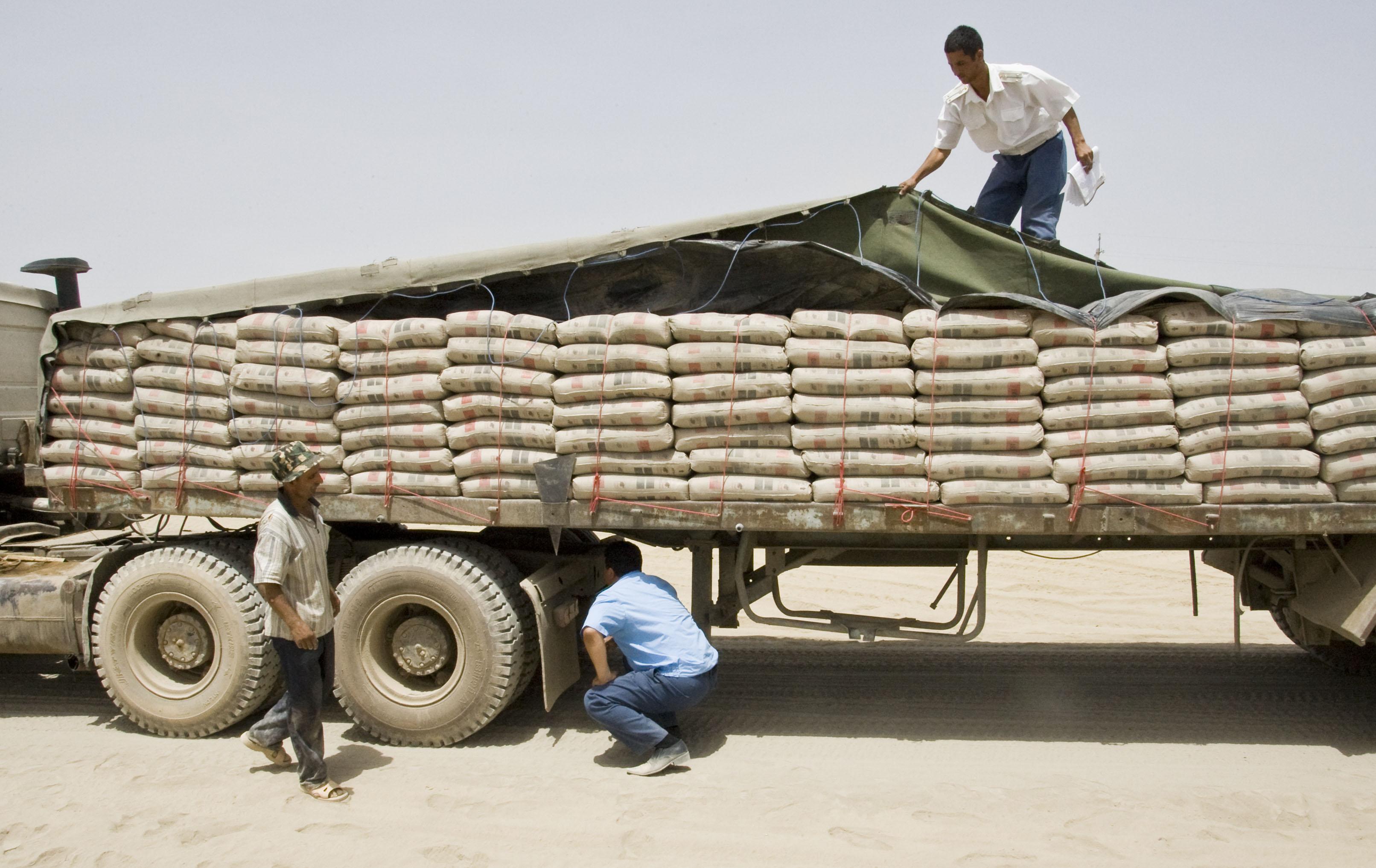 صادرات 470 هزار تن سیمان به افغانستان