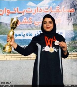بانوی دارتر خراسان جنوبی در رتبه اول ایران، چهارم آسیا و چهلم دنیا