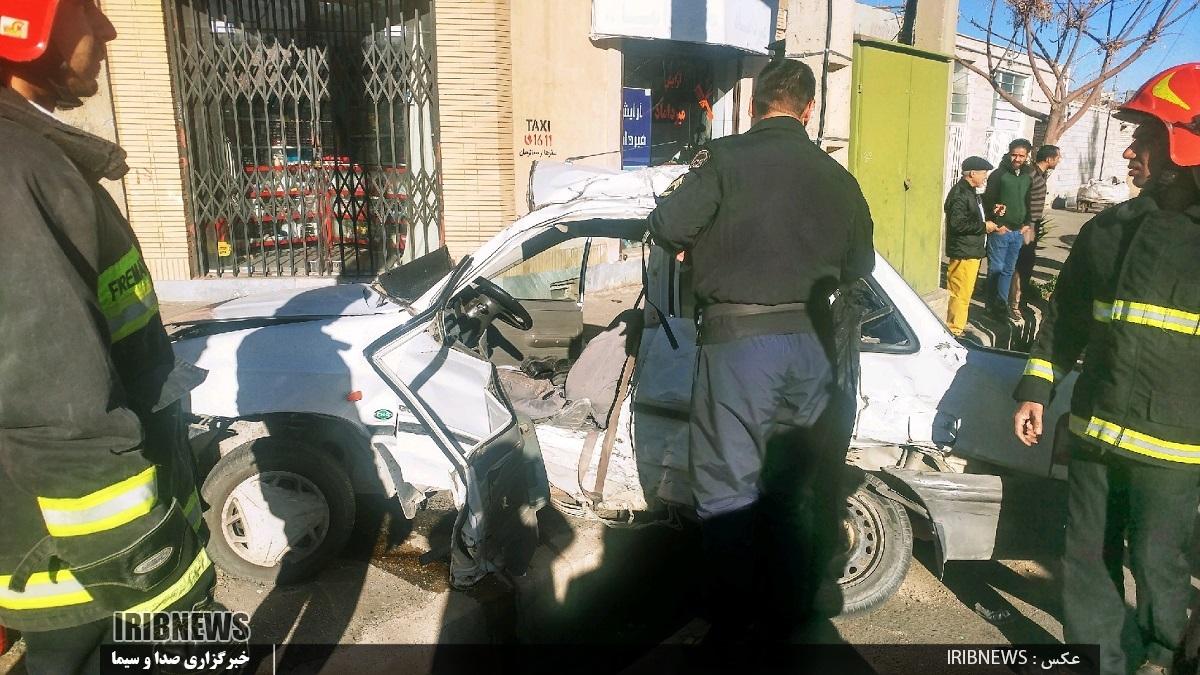سه مصدوم در حادثه رانندگی خیابان امام موسی صدر بیرجند