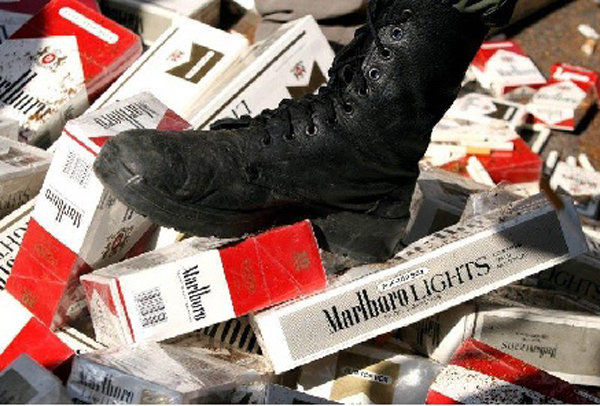کشف ۲۰ هزار نخ سیگار قاچاق در بیرجند