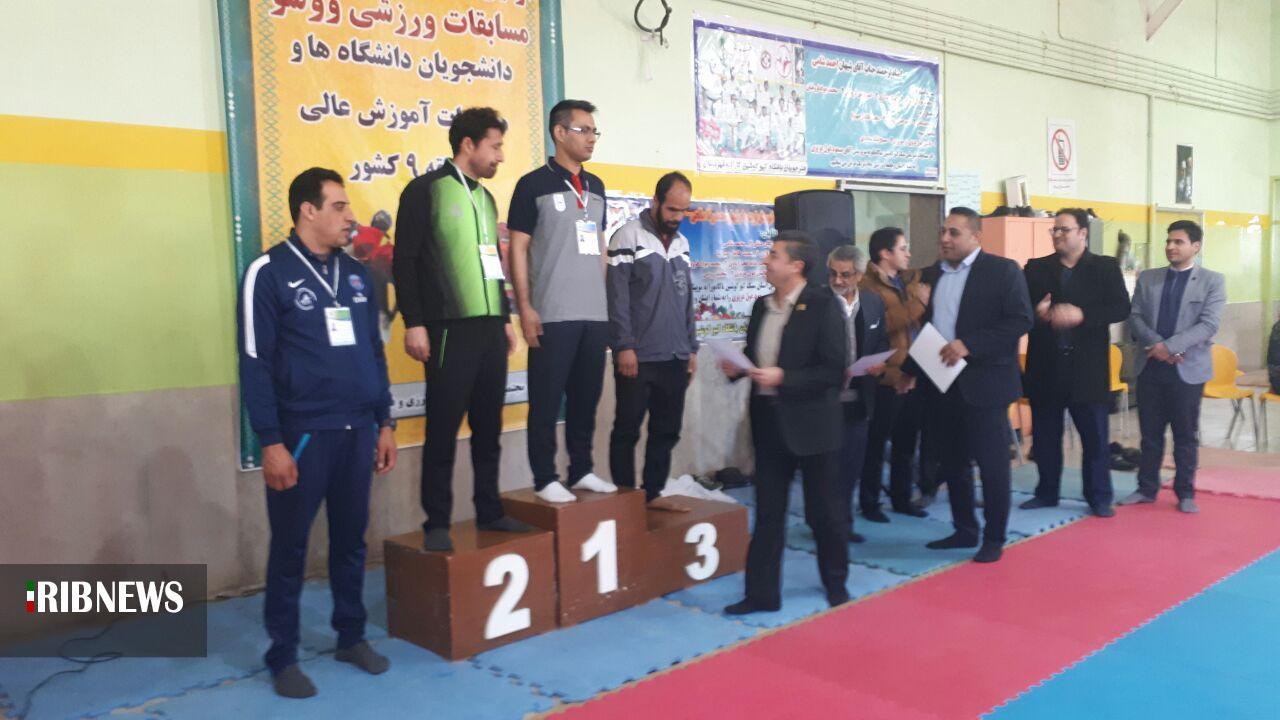 درخشش ووشوکاران خراسان جنوبی در مسابقات دانشجویان منطقه ۹ کشور