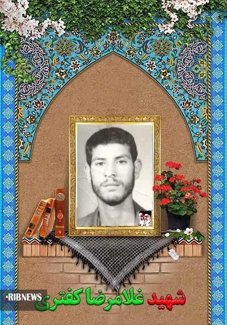 تشییع مادر شهید رضا کفتری در ارسک