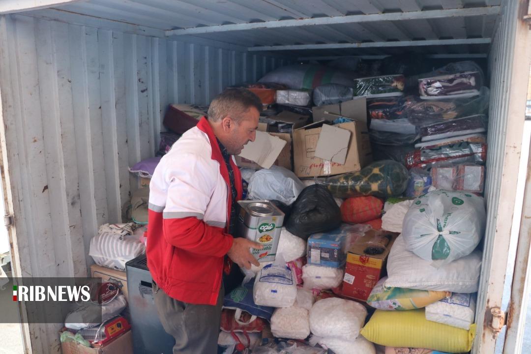 ارسال هشتمین محموله کمکهای امدادی خراسان جنوبی به سیستان و بلوچستان