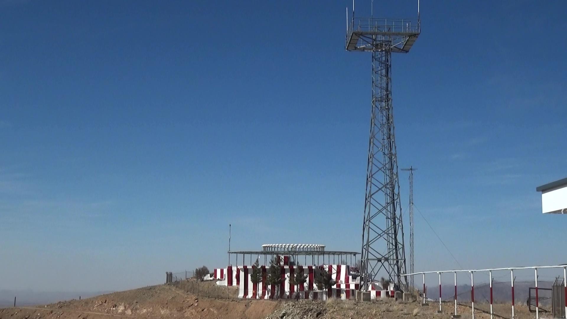 بهره برداری از ایستگاه ارتباطی ناوبری در منطقه تقی قنبر بیرجند