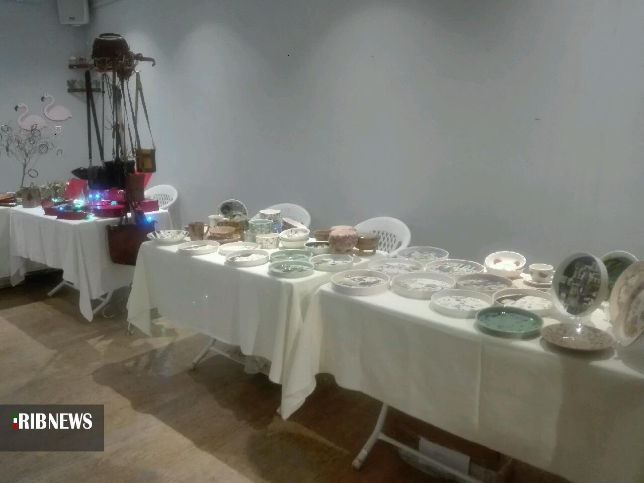 افتتاح نمایشگاه دست، عشق و نقش در بیرجند