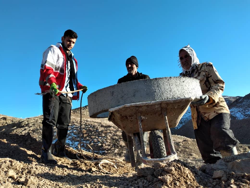 اعزام کاروان نیکوکاری به روستای نارگندل شهرستان قاین