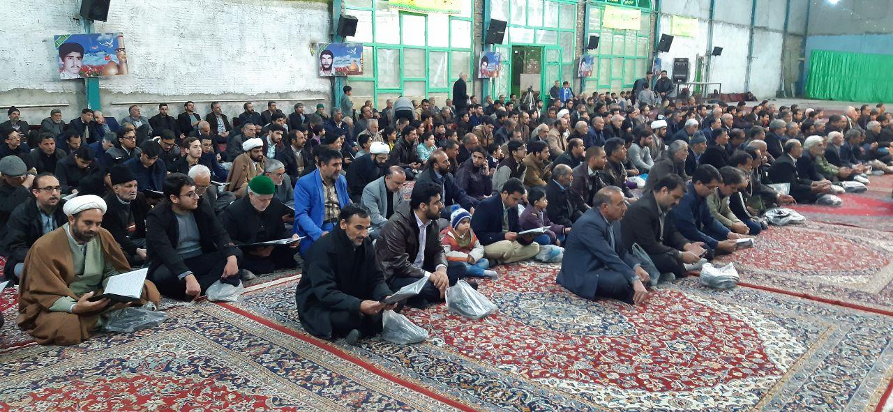 مراسم چهلمین روز شهادت سردار شهید حاج قاسم سلیمانی در فردوس