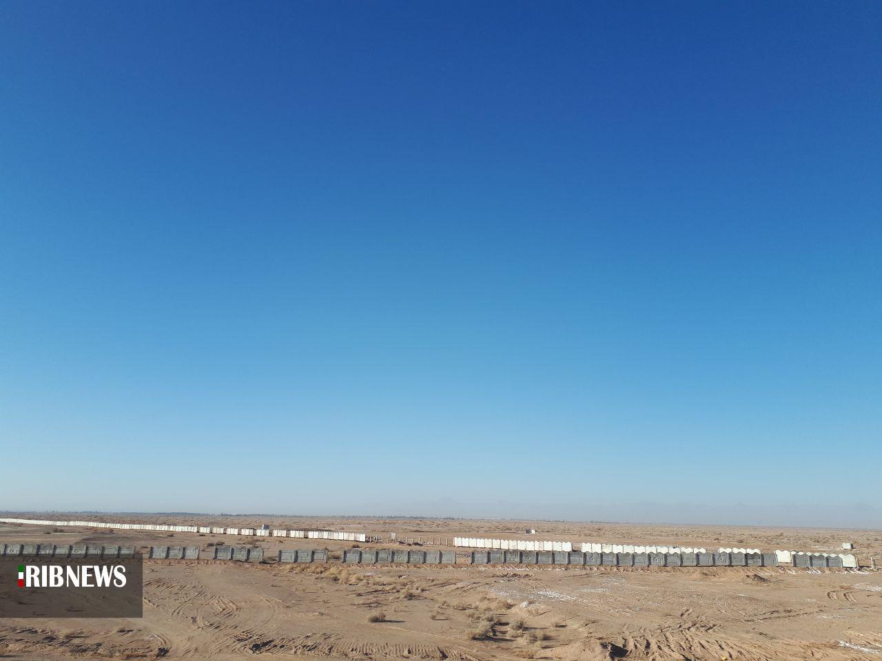 توقف قطار صنایع جوارِ ریلی در ایستگاه صفر