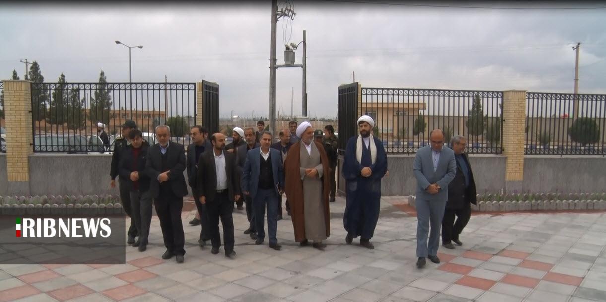 افتتاح ساختمان جدید دادگاه عمومی بخش دستگردان