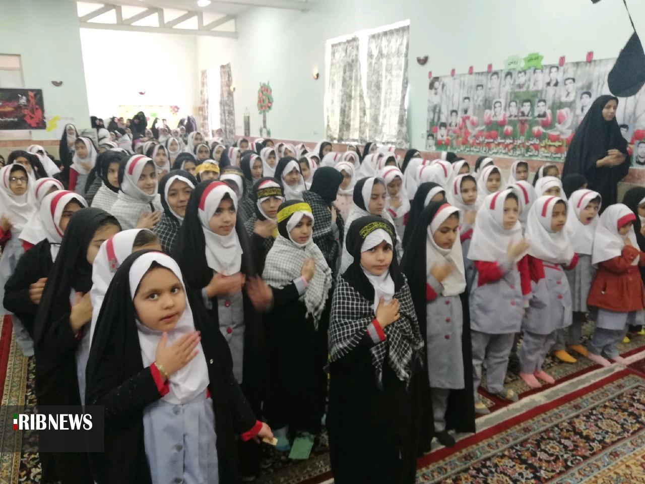 برگزاری یادواره یادبود سردار شهید حاج قاسم سلیمانی در آیسک