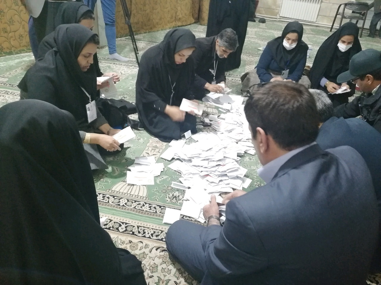 اعلام نتایج شمارش آراء در ۴ حوزه انتخابیه خراسان جنوبی