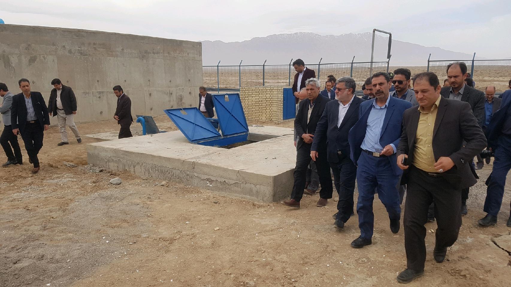 آبرسانی به چهل محله عشایری شهرستان زیرکوه