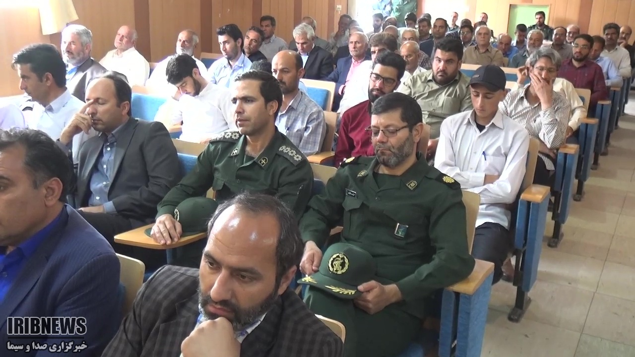 سرهنگ حسنی، فرمانده جدید ناحیه مقاومت سپاه بشرویه