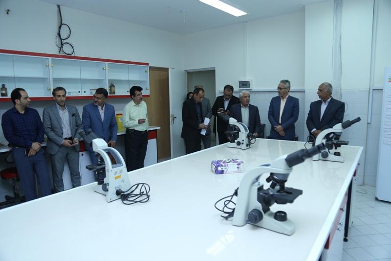 افتتاح آزمایشگاه هماتولوژی و اتاق آموزش مجازی در دانشکده پیراپزشکی