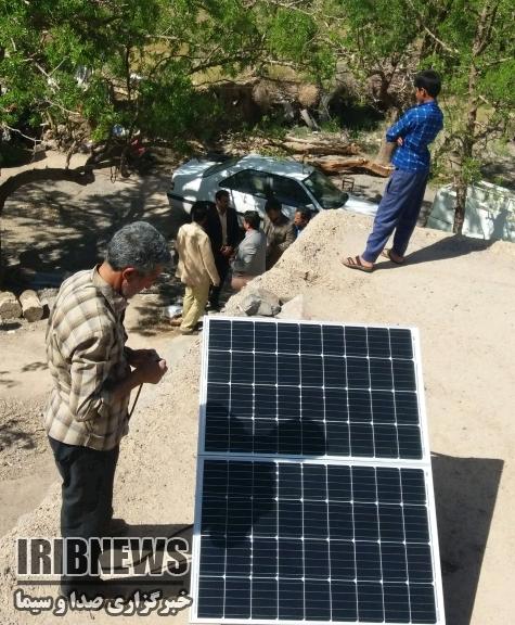 نصب 11 پنل خورشیدی در مناطق روستایی خوسف