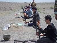 اردوی عملی درس آمادگی دفاعی در مدارس خراسان جنوبی