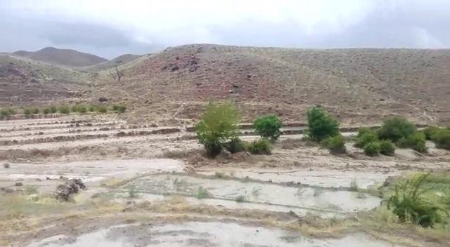یک فوتی در اثر سیل در روستای شیرگ شهرستان سربیشه