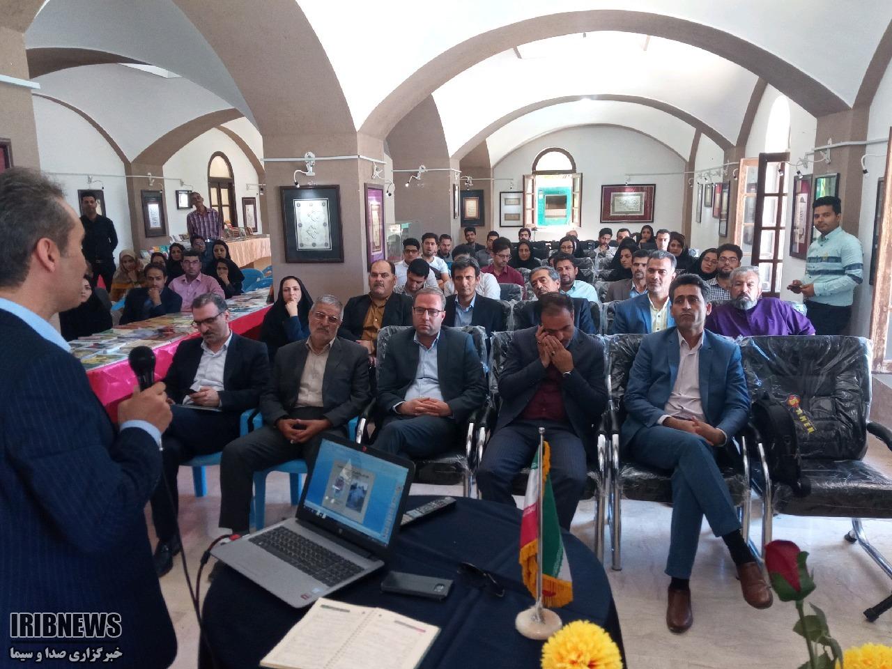 افتتاح همزمان سه رویداد فرهنگی در خانه فرهنگ طبس