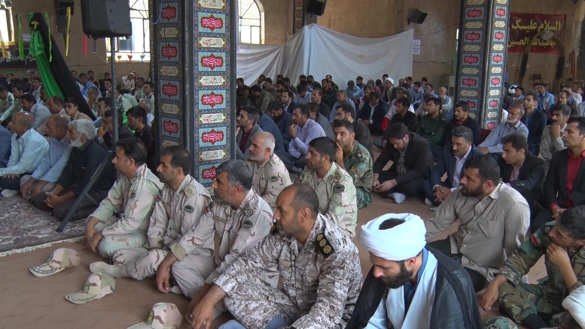 برگزاری مراسم سالگرد ارتحال امام خمینی (ره) و قیام 15 خرداد درنهبندان