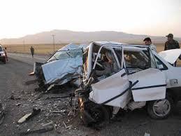 دو کشته در تصادف محور روستایی مختاران - دهک