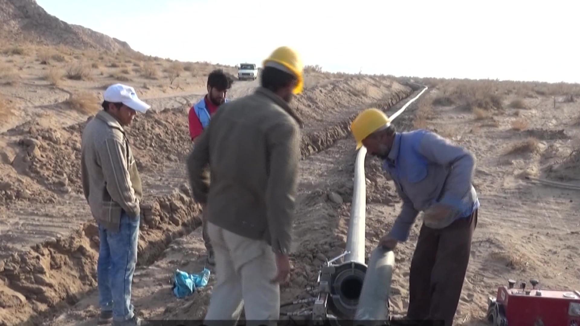 بهره برداری از مرحله نخست انتقال آب از محمد شهر به بیرجند