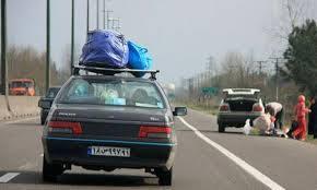 ترافیک نیمه سنگین در جاده های خراسان جنوبی