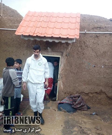 امداد رسانی به 550 گرفتار در سیلاب در خراسان جنوبي