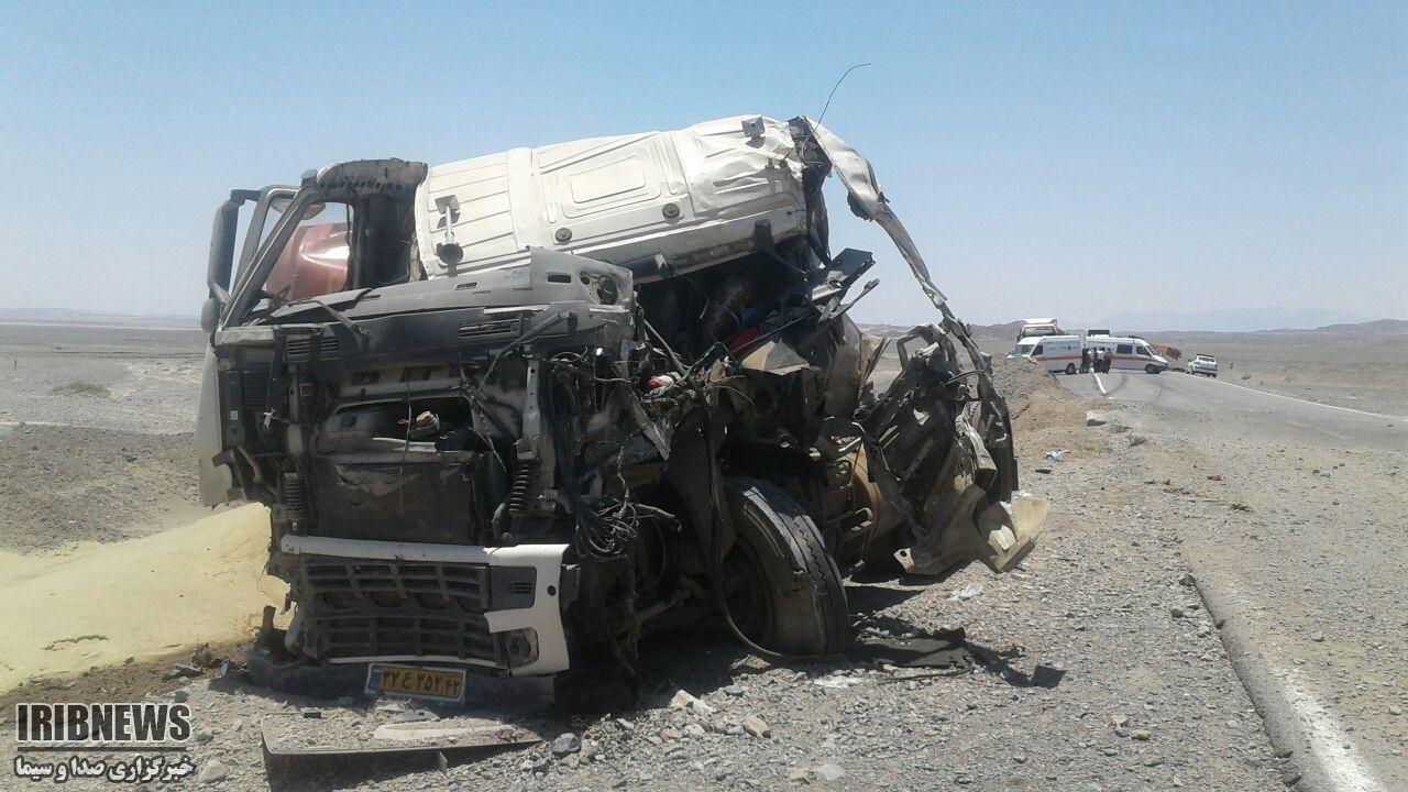 حادثه رانندگی در محور دیهوک - راور