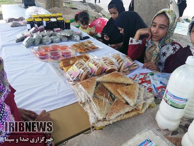افتتاح اولین بوم بازار روستایی در دهستان مصعبی بخش آیسک