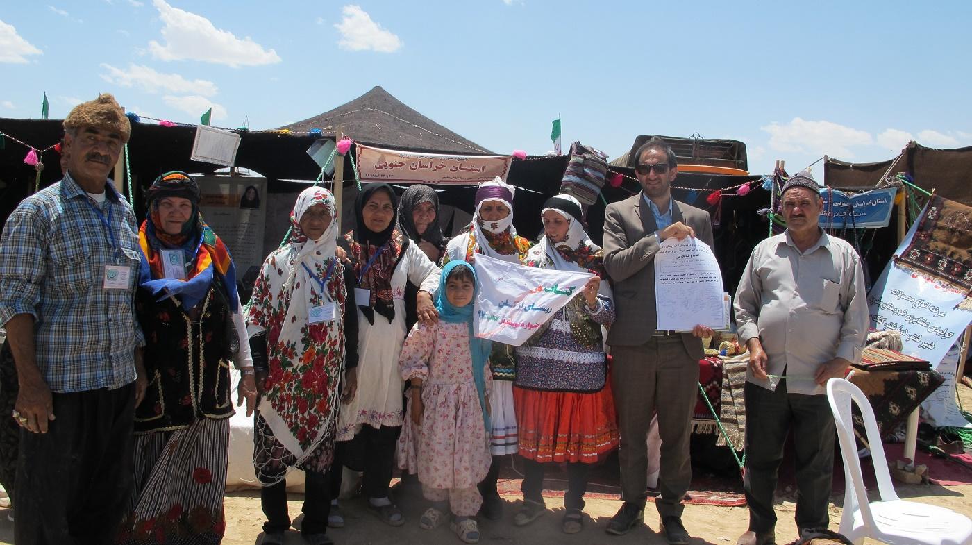 حضور عشایر بشرویه در جشنواره ملی فرهنگی ورزشی عشایر کشور