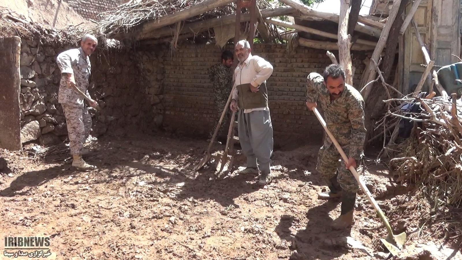 خسارت سیل به 48 واحد مسکونی شیرگ سربیشه