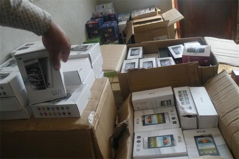 کشف گوشی های تلفن همراه قاچاق در طبس