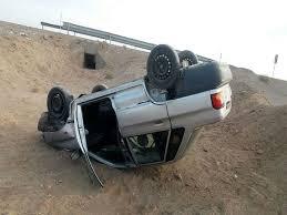 دو کشته و مصدوم در واژگونی پراید محور فردوس_دیهوک