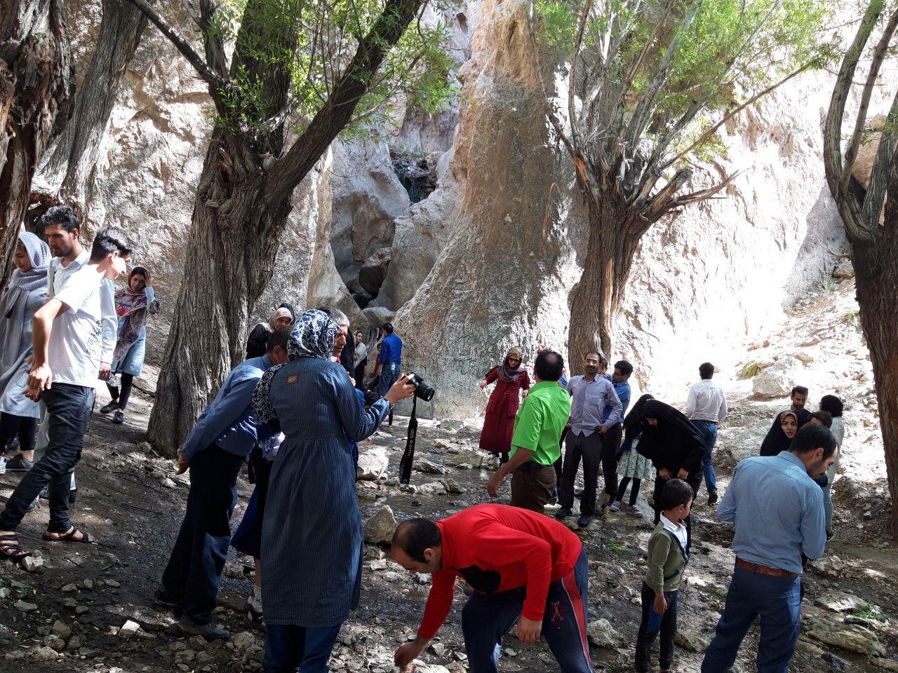 سیاحت گردشگران بیرجندی در سرایان