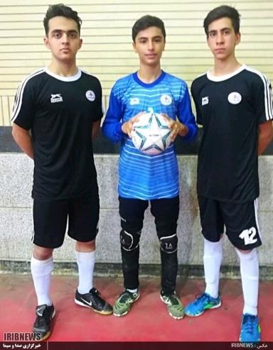 دعوت از سه بازیکن نوجوان فردوسی به اردوی استعدادیابی تیم ملی فوتسال نوجوانان