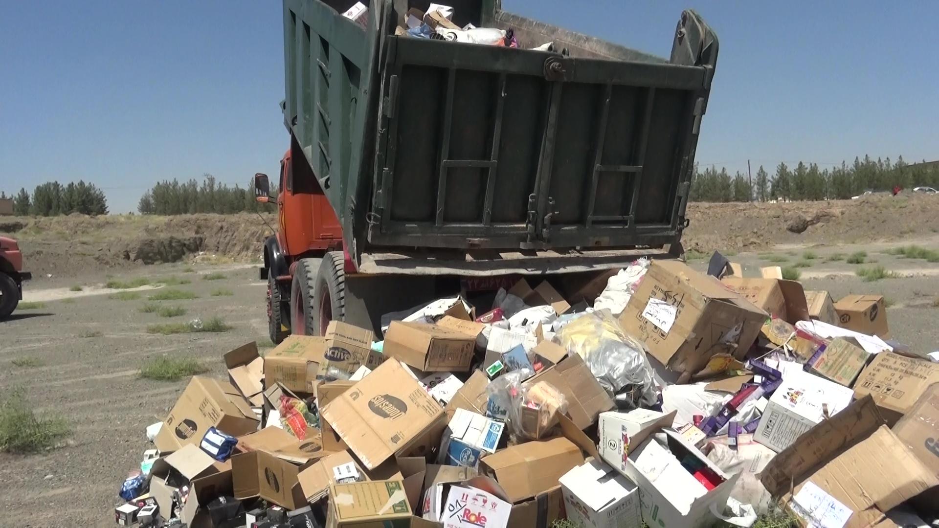 امحای 40 هزار قلم کالای قاچاق در بیرجند