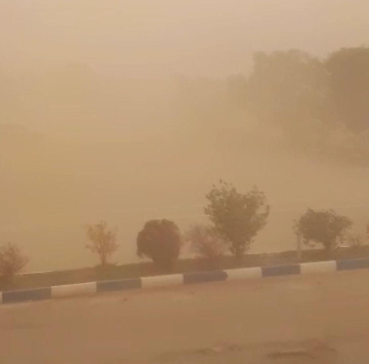 وزش باد شدید و گرد و خاک از امروز در استان