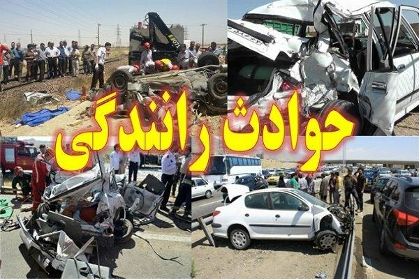 بیشترین حوادث رانندگی در30 کیلومتری شهرها