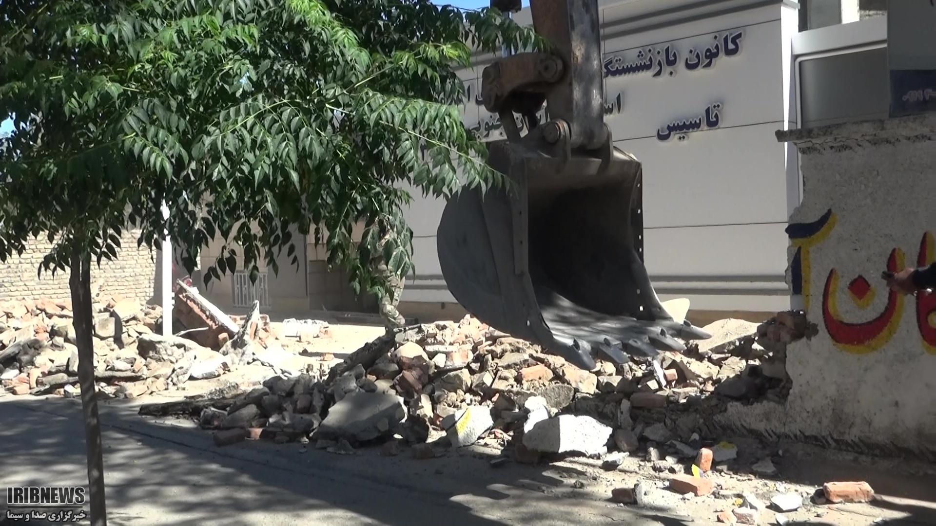 آغاز عملیات اجرایی تعریض خیابان ارتش بیرجند