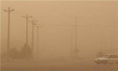 وزش باد شدید با بیشینه سرعت 68 کیلومتر بر ساعت