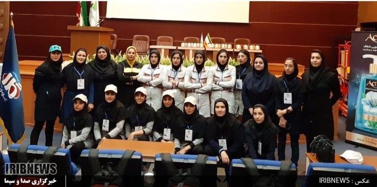 درخشش دانشگاه بیرجند در المپیاد ورزشهای همگانی دانشجویان دختر کشور