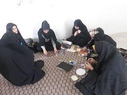 استقرار گروه جهادی درروستای عباس آباد دشت