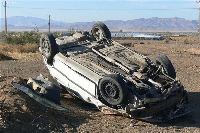 یک کشته در واژگونی پراید در محور بیرجند – سربیشه