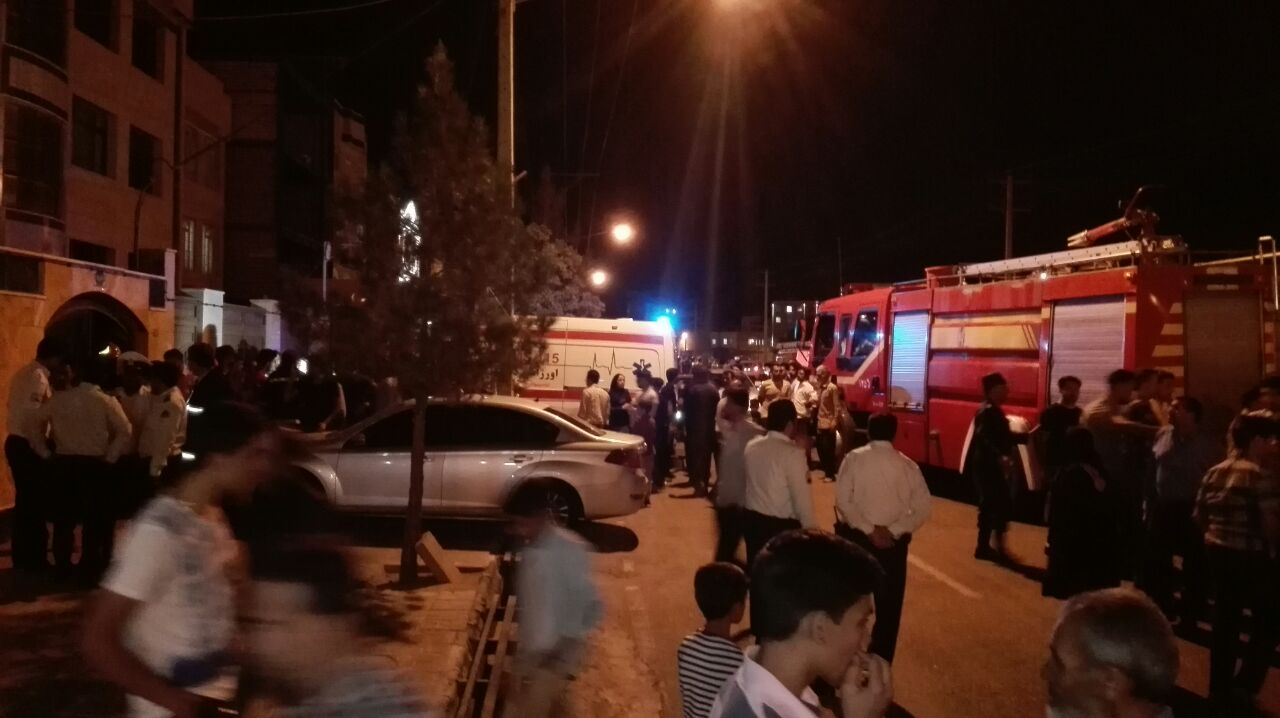 علت حادثه نشت گاز خیابان ظفر بیرجند در دست بررسی است